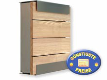 Briefkasten Keilbach glasnost.wood.larch 07 1500