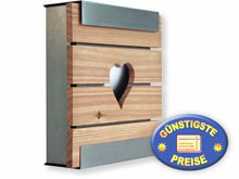 Briefkasten Keilbach glasnost.wood.heart 07 1501