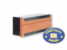 Zeitungsbox Keilbach glasnost.newsbox.wood.larch 07 1205