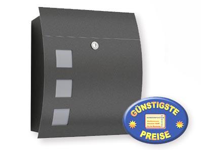 Briefkasten Bkv Modell 76 Anthrazit Briefkastenverkauf De